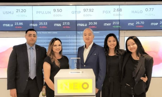 FRC Ringing the Opening Bell at the NEO Exchange