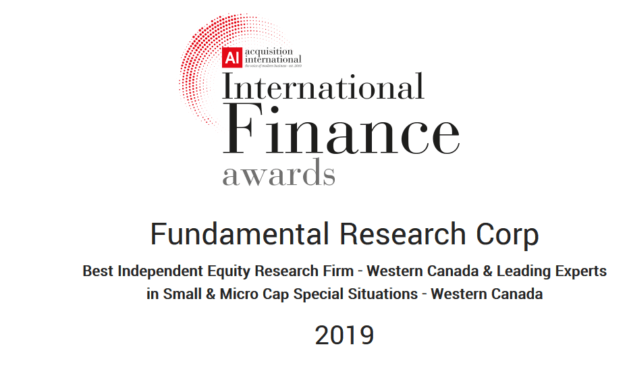 Acquisition International is Proud to Announce the Winners of the 2019 International Finance Awards