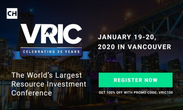 January 19-20, 2020: Vancouver Resource Investment Conference