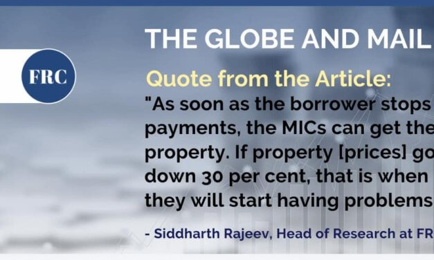 FRC's Analyst, Sid Rajeev shares his opinion on the Globe and Mail