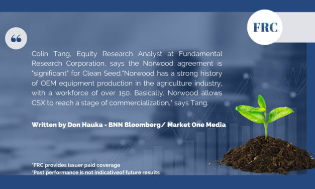 FRC Analyst,Colin Tangs shares his opinion on BNN Bloomberg