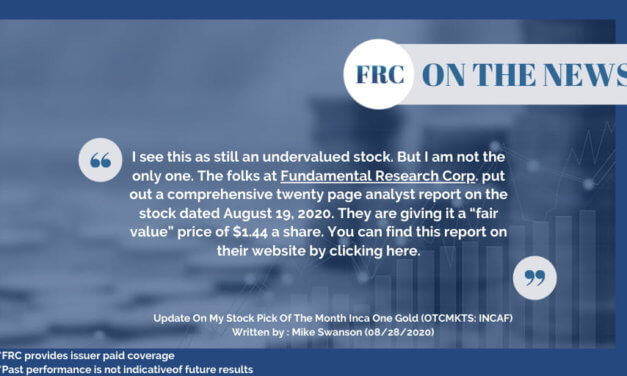 FRC'S Analyst Research Report featured on WallStreet Window