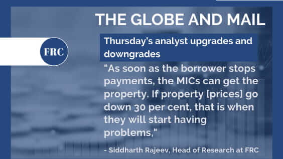 Sid Rajeev on Thursday's analyst upgrades and downgrades